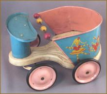 Antique Doll Cart