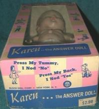 Hard Plastic Block Doll