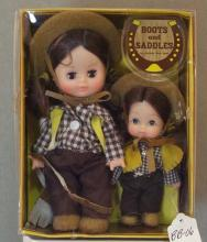 Boots and Saddles Doll Set
