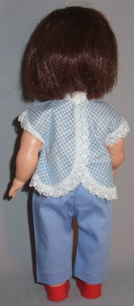 Allied Easter doll, marked AE