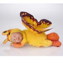 Ann Geddes doll - Sleeping Butterfly
